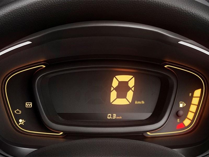 Renault Kwid 2016 приборная панель