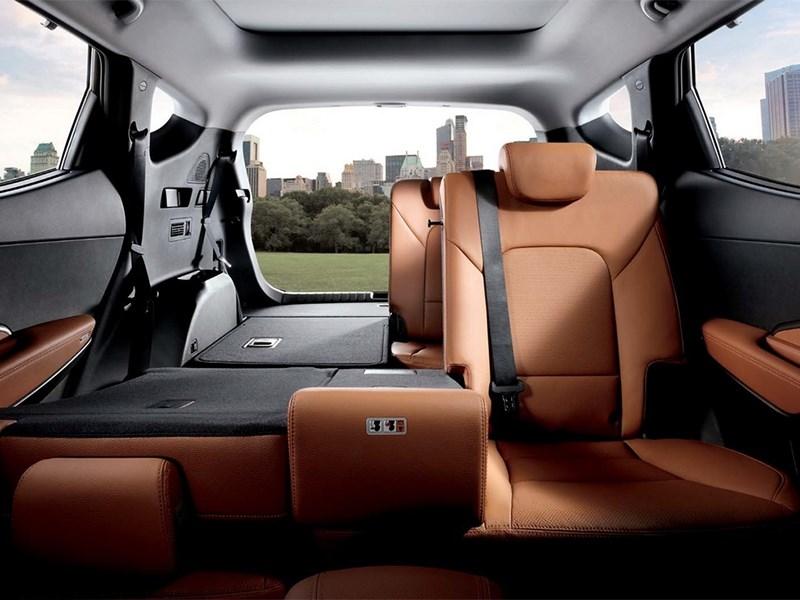 Hyundai Santa Fe 2015 задние кресла