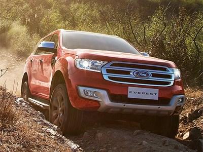 Новый Ford Everest проходит тестовые испытания на дорогах Китая