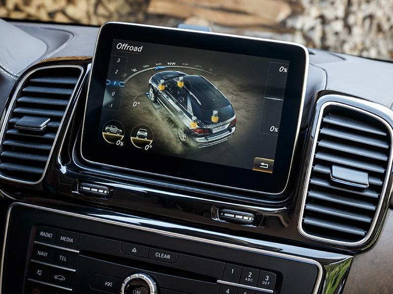 Mercedes-Benz GLE 2016 монитор компьютера