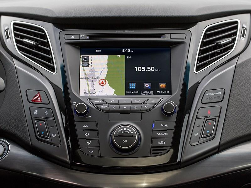 Hyundai i40 2015 центральная консоль