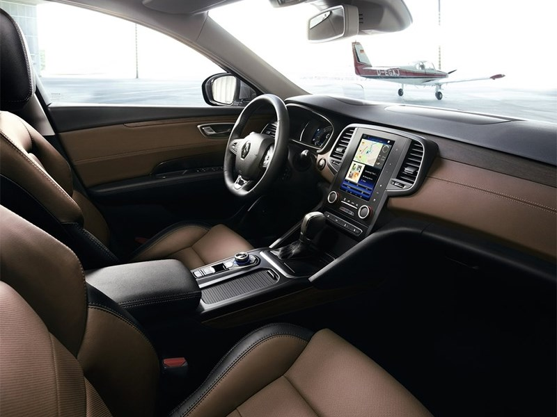 Renault Talisman 2016 салон