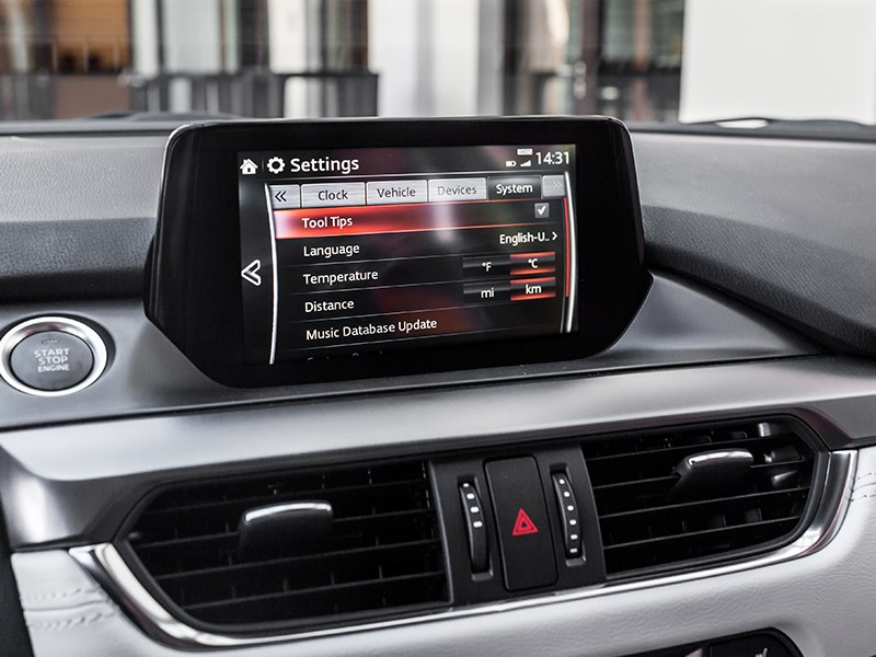 Mazda 6 2016 монитор