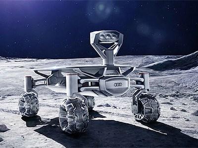 Audi отправит на Луну полноприводный ровер