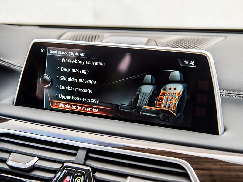 BMW 7-Series 2016 монтор