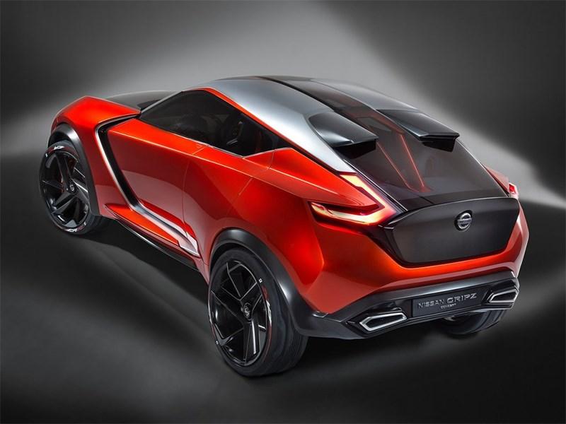 Nissan Gripz Concept 2015 вид сзади сверху