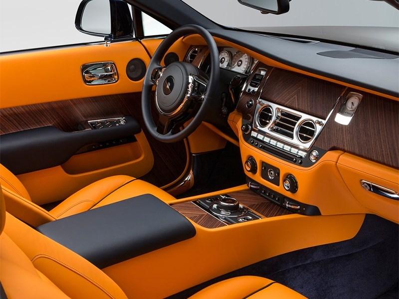 Rolls-Royce Dawn 2017 салон