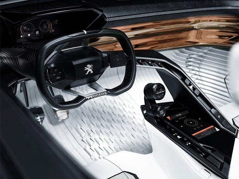 Peugeot Fractal Concept 2015 салон