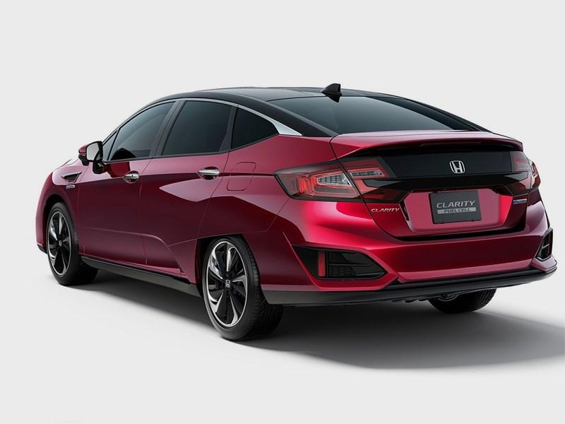 Honda Clarity Fuel Cell 2016 вид сзади