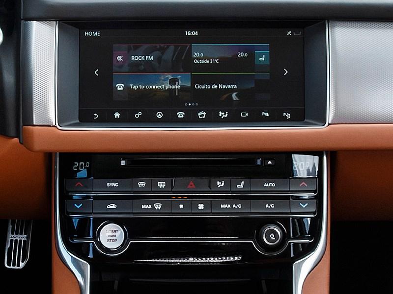Jaguar XF 2016 центральная консоль
