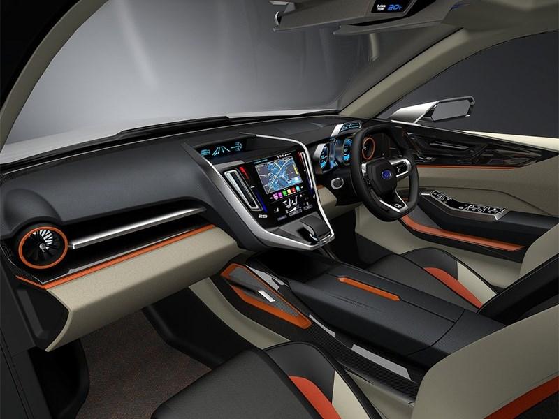 Subaru VIZIV Future Concept 2015 салон