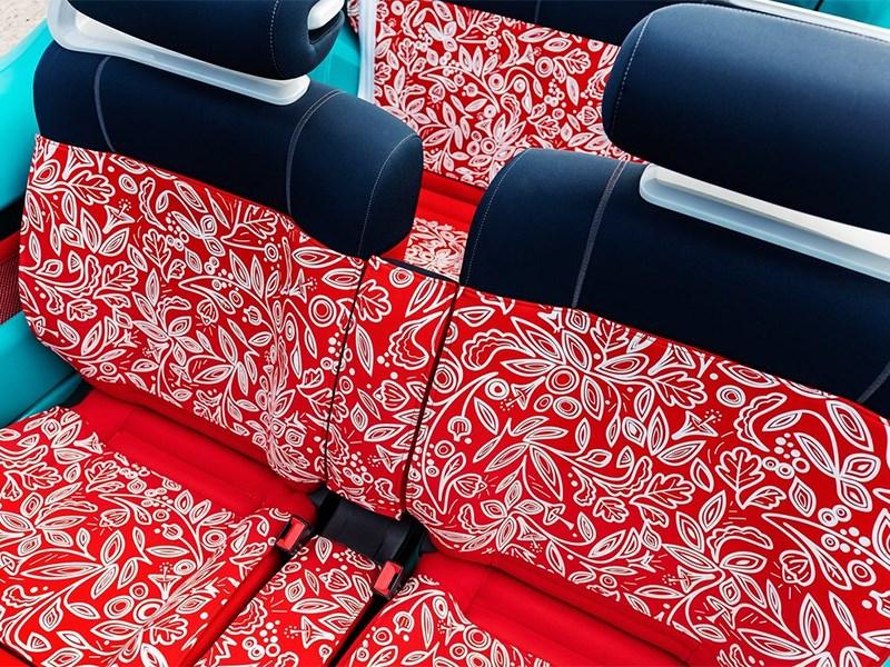 Citroen Cactus M concept 2015 кресла