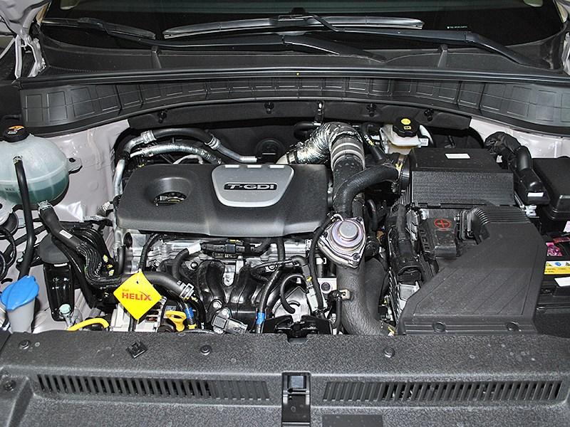 Hyundai Tucson 2016 двигатель