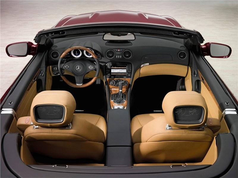 Mercedes-Benz SL 500 2009 салон