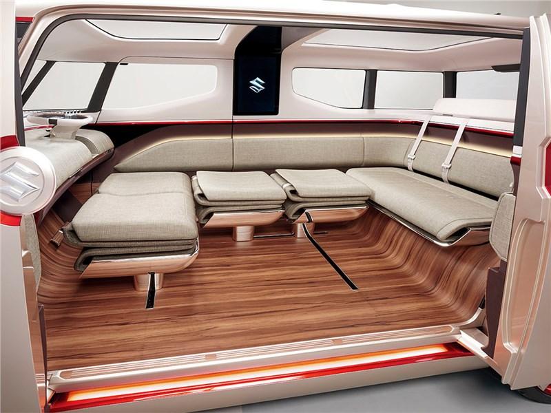 Suzuki Air Triser concept 2015 салон 3