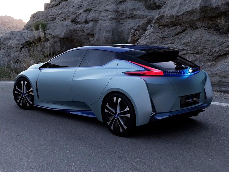 Nissan IDS concept 2015 вид сбоку сзади