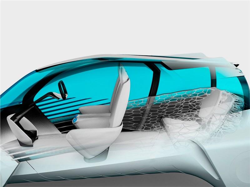 Toyota FCV Plus concept 2015 салон 3