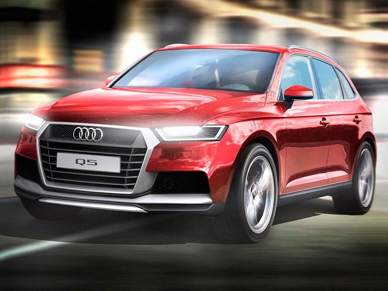 Audi привезет в Париж новое поколение кроссовера Q5