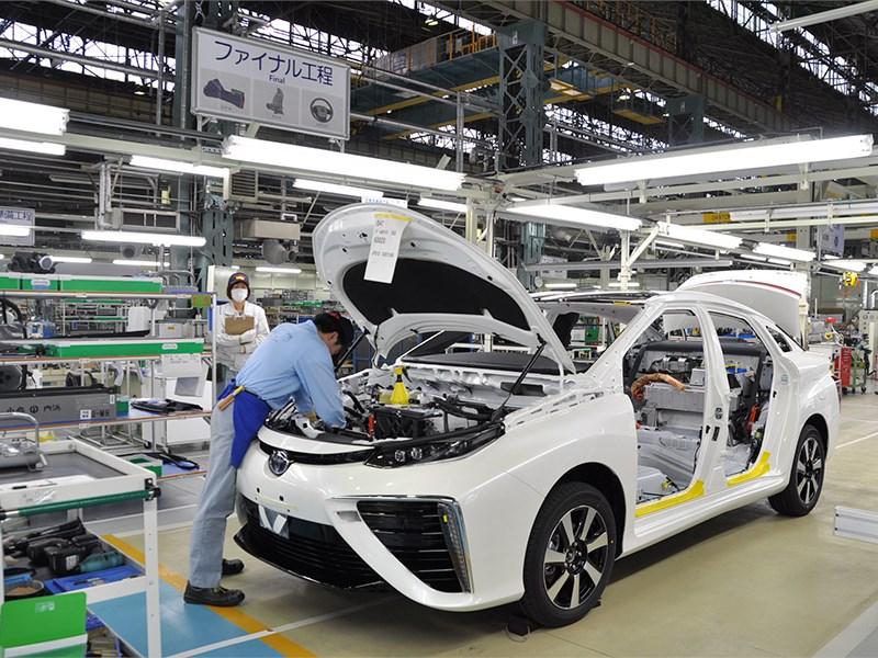 Toyota Motor может приостановить работу своих японских заводов