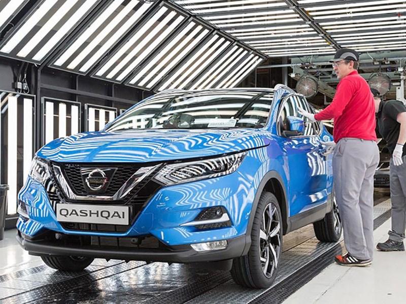 Nissan начал производство обновленного Qashqai