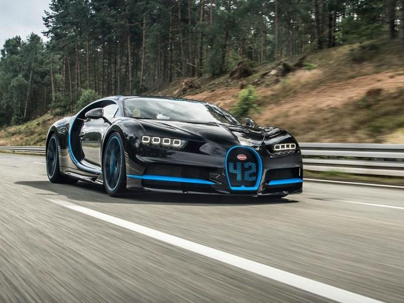 Российские покупатели Bugatti Chiron вынуждены получать их в Европе