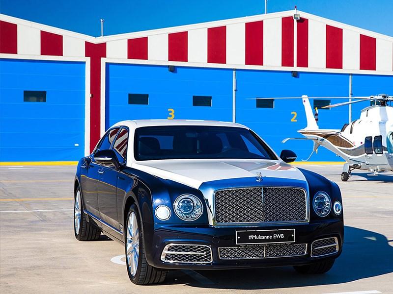Bentley привезла в Россию самую дорогую версию Mulsanne