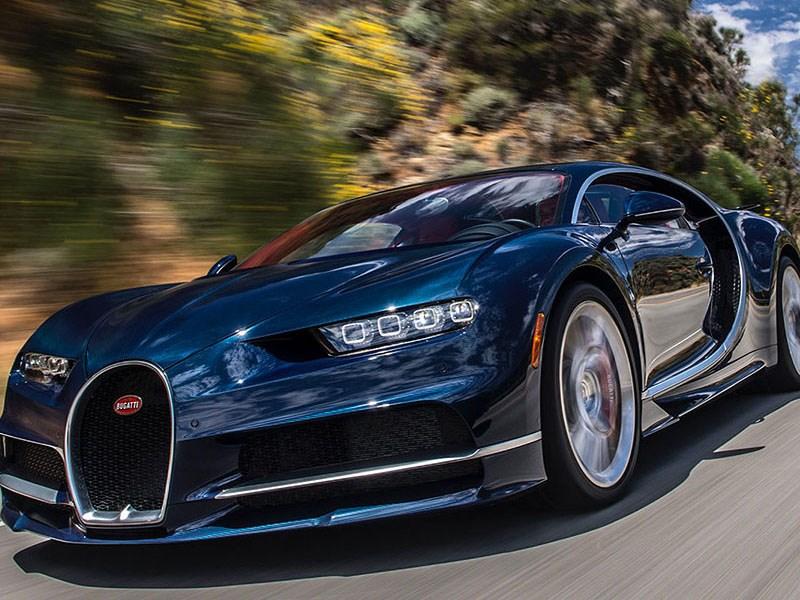 Bugatti отзывает все выпущенные Chiron