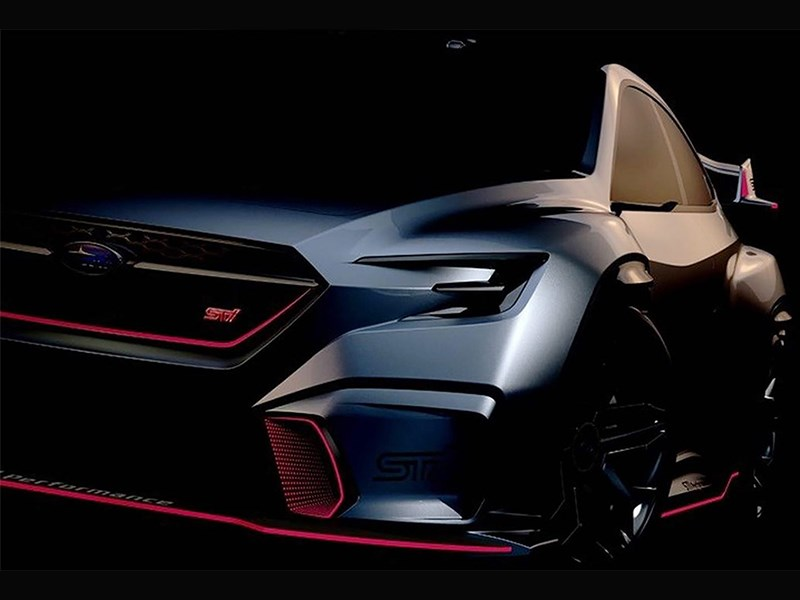Subaru намекнет на новый WRX STI