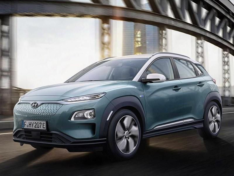 Hyundai Kona получил электрическую версию