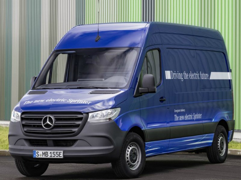 Mercedes-Benz рассказал об электрическом Sprinter