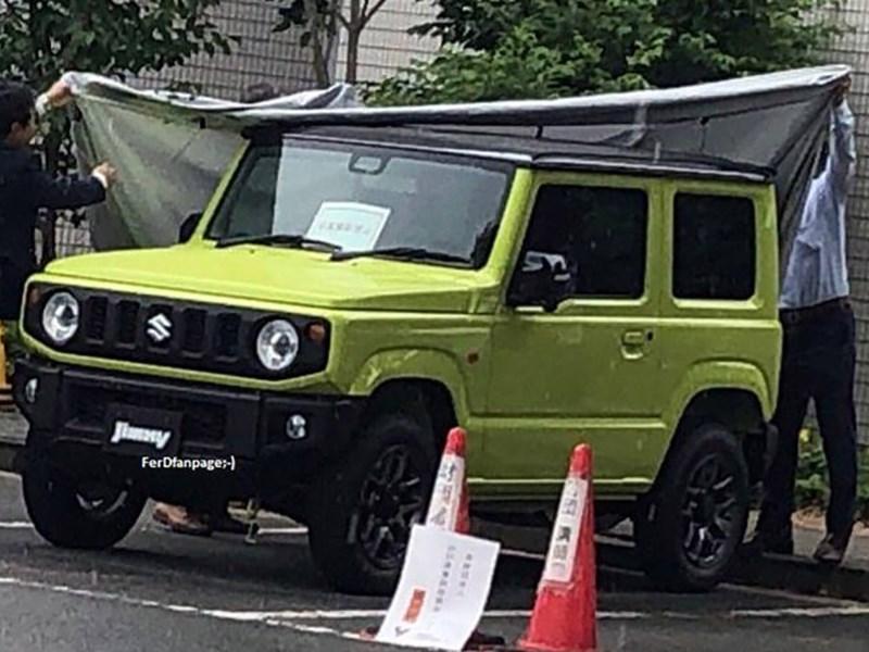 Рассекречен облик нового Suzuki Jimny