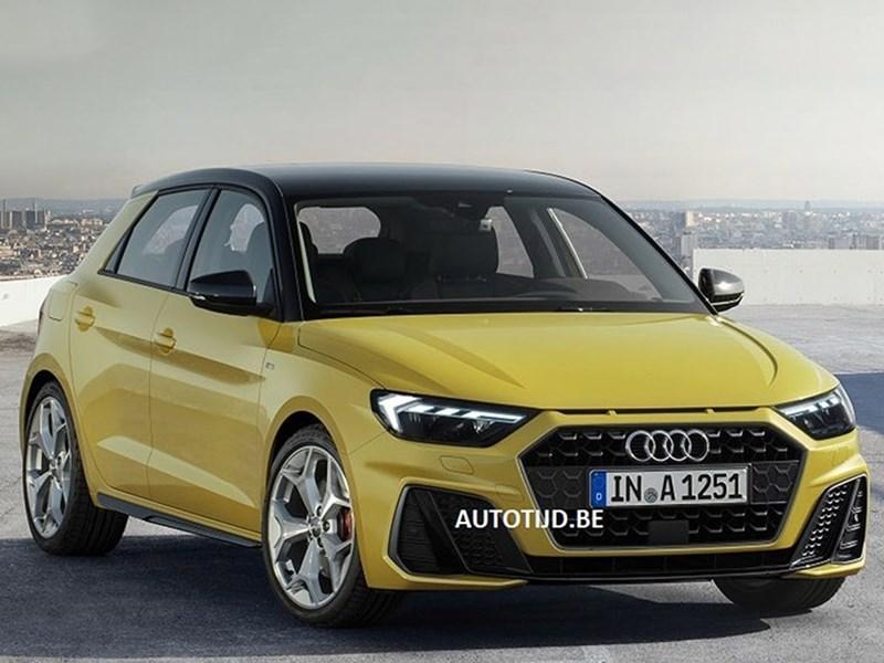 В сети опубликовали фото новой Audi A1 Фото Авто Коломна