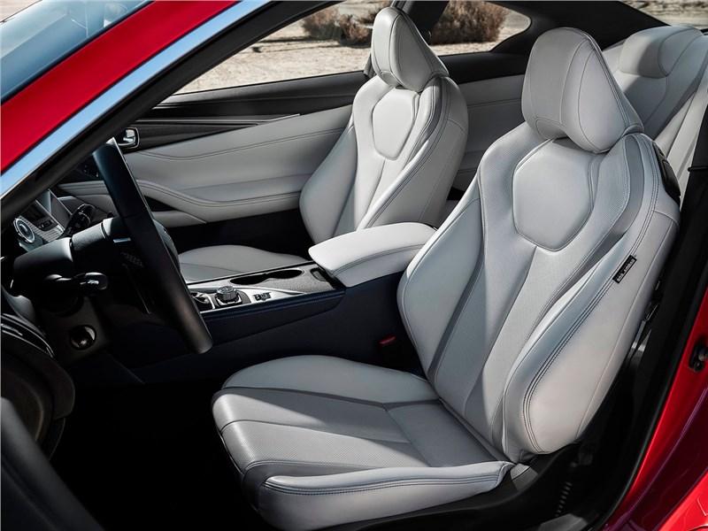 Infiniti Q60 2016 передние кресла