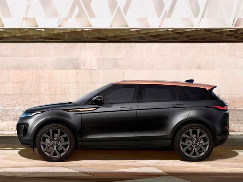 В Россию приехал бронзовый Range Rover Evoque