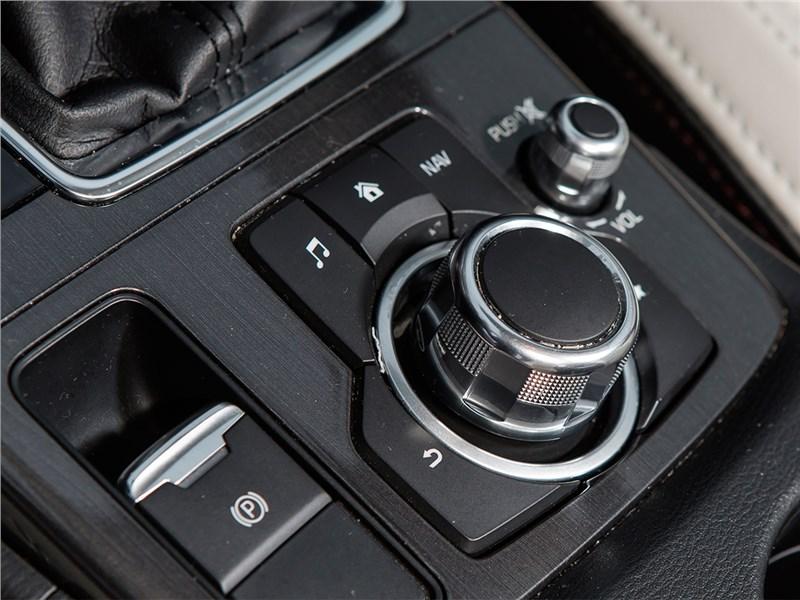 Mazda CX-5 2015 шайба управления мультимедийной системой