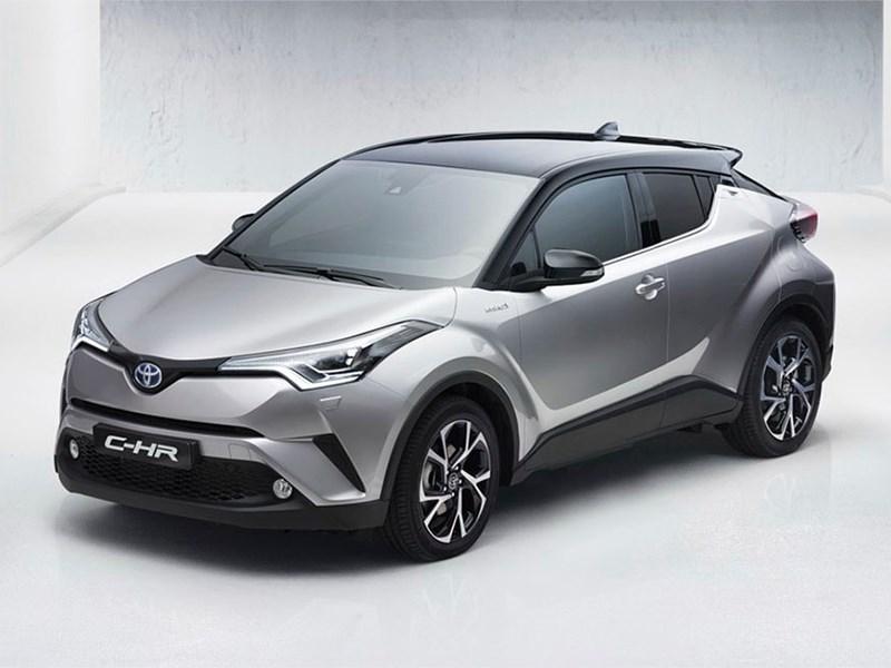 Toyota показала новый кроссовер C-HR до премьеры