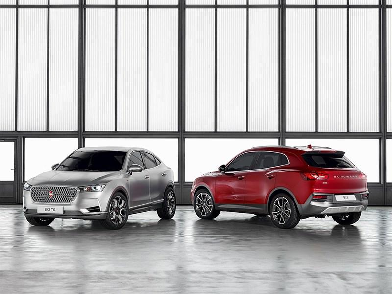 Воскресший бренд Borgward привез в Женеву два новых автомобиля