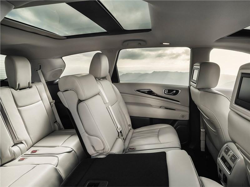 Infiniti QX60 2017 места для пассажиров