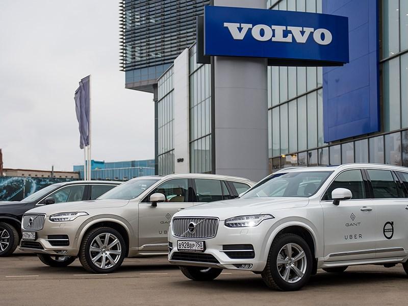 Продажи Volvo в феврале выросли на 15 процентов