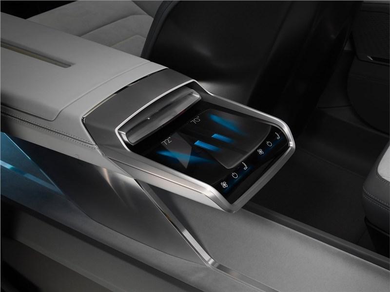 Audi h-tron quattro Concept 2016 управление климатом
