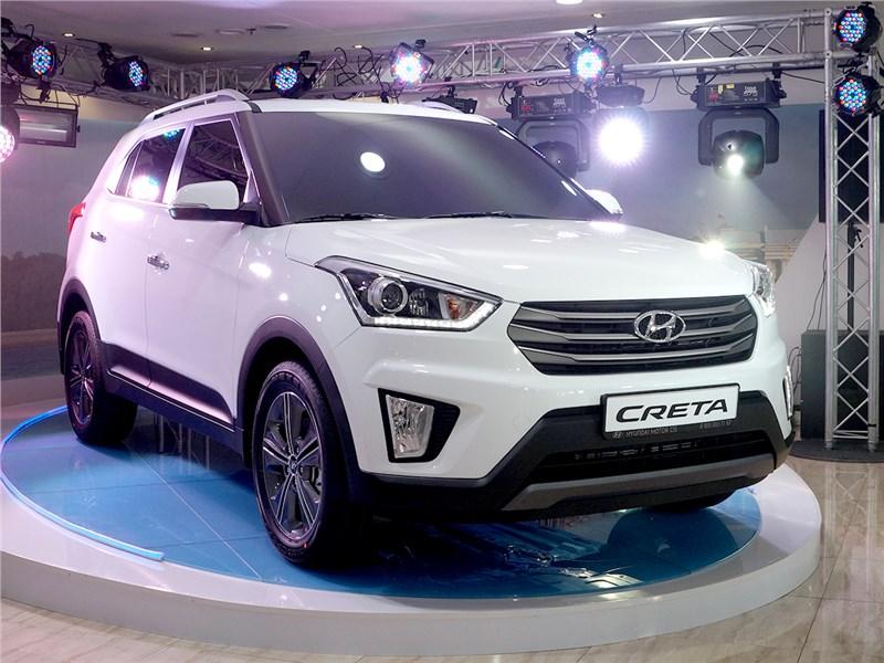 Новый Hyundai Creta - Hyundai Creta 2016 Creta значит «креативный»