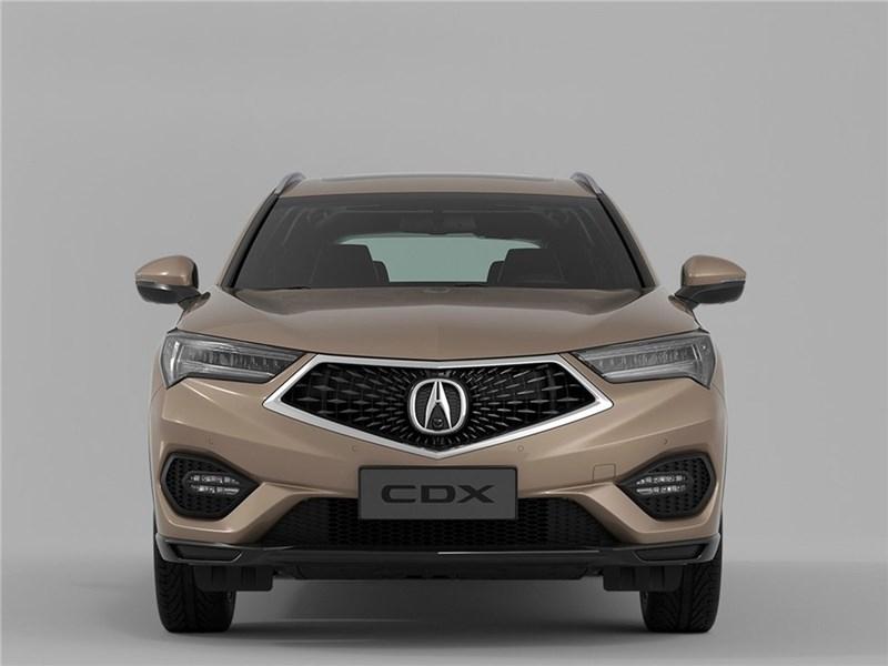 Acura CDX 2017 вид спереди