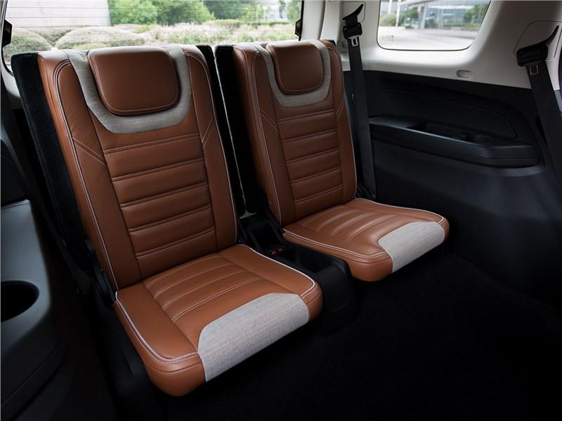 Chevrolet Trailblazer 2016 третий ряд