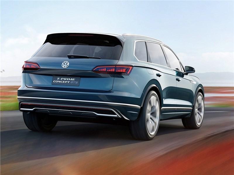 Volkswagen T-Prime Concept GTE 2016 вид сзади