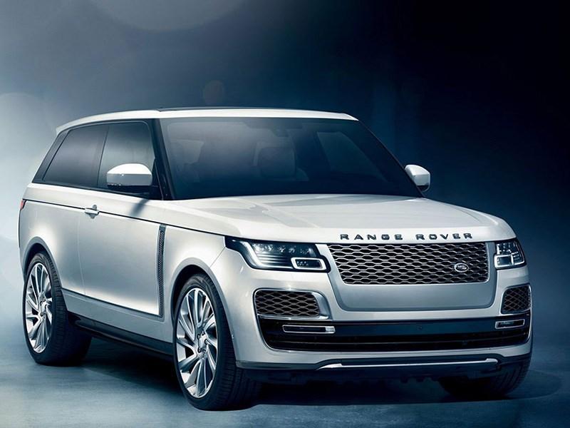 Range Rover SV Coupe: меньше дверей — выше цена - автоновости