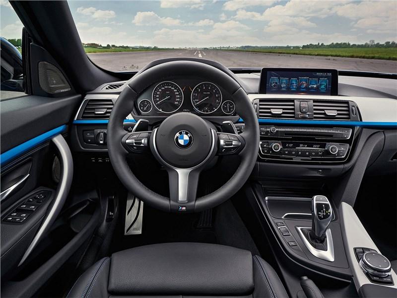 BMW 3 series GT 2017 салон
