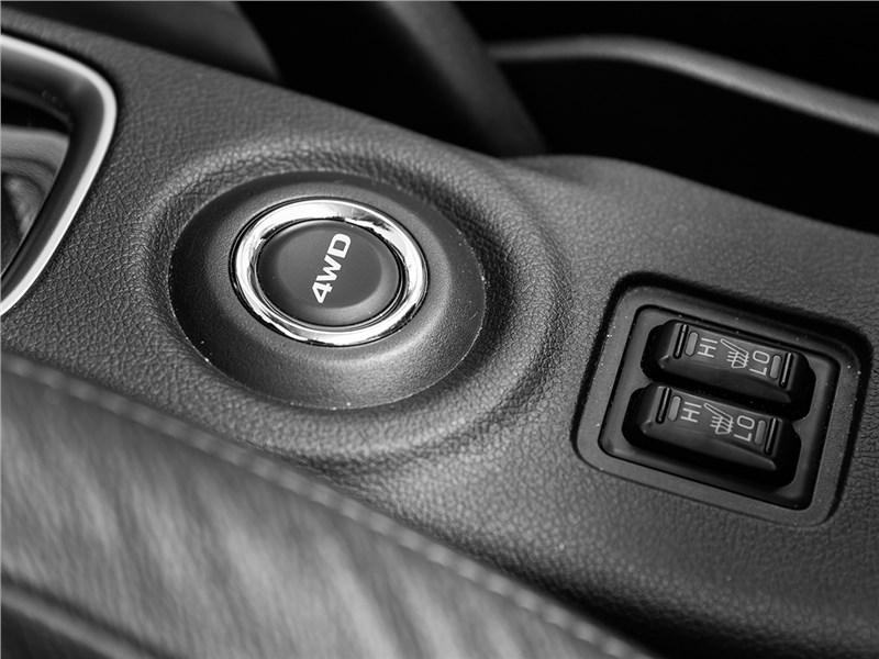 Mitsubishi Outlander 2016 выбор режимов