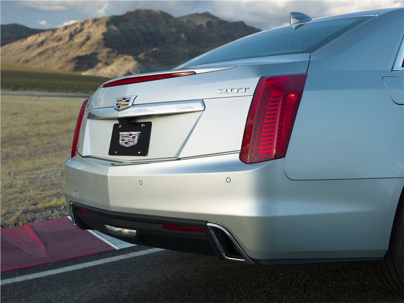 Cadillac CTS 2017 багажник