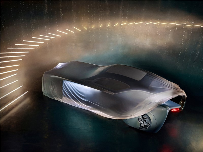 Rolls-Royce Vision Next 100 concept 2016 вид сверху