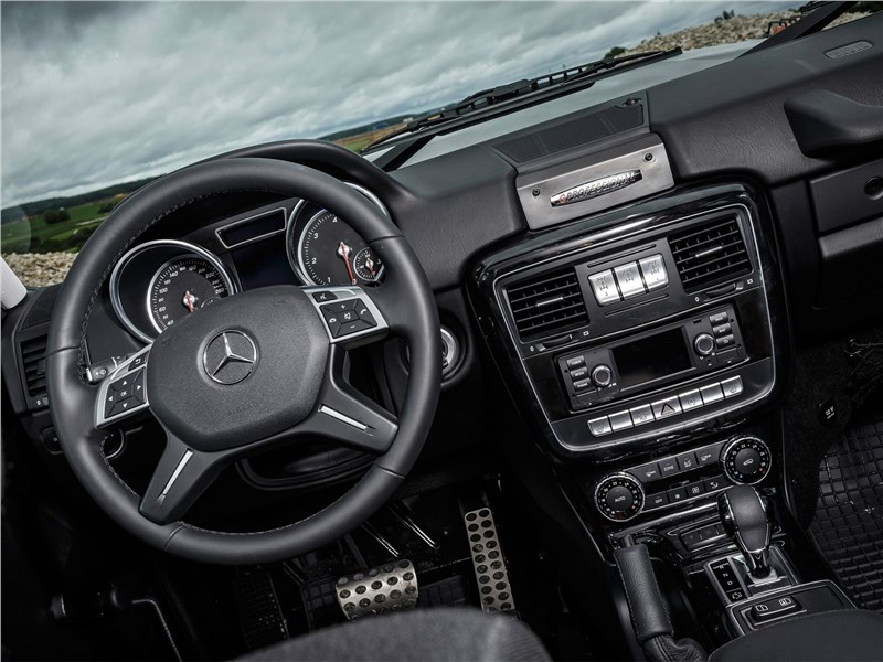 Mercedes-Benz G350d Professional 2017 салон